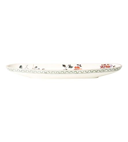 VILLEROY & BOCH Artesano Provençal Verdure French stick dish 44cm x 14cm
