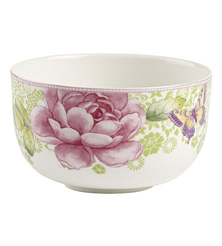 VILLEROY & BOCH Rose Cottage porcelain bowl 750ml