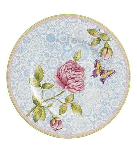 VILLEROY & BOCH 玫瑰别墅瓷沙拉盘 22 厘米