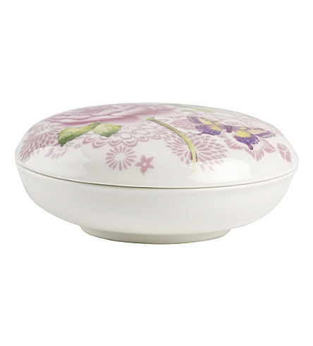 VILLEROY & BOCH Rose Cottage porcelain box with cover 11cm