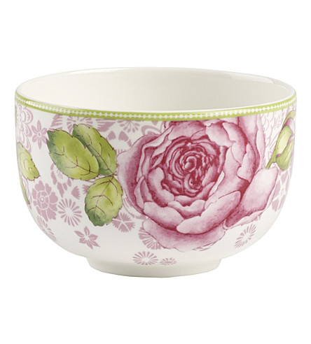 VILLEROY & BOCH Rose Cottage porcelain teacup 370ml