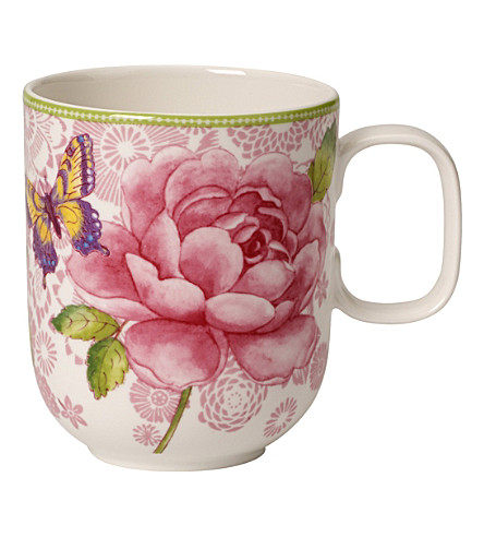 VILLEROY & BOCH Rose Cottage porcelain mug 350ml