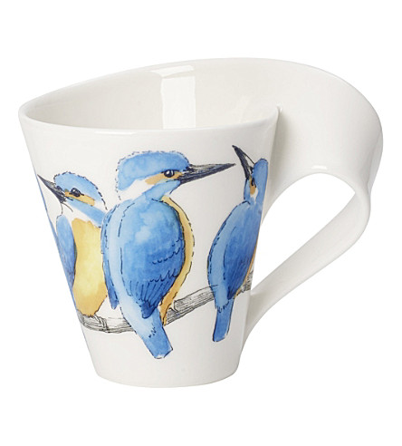 villeroy boch new wave caffe kingfisher coffee mug 0. Black Bedroom Furniture Sets. Home Design Ideas