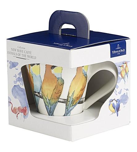 VILLEROY & BOCH New Wave Caffe Bee-eater coffee mug gift box