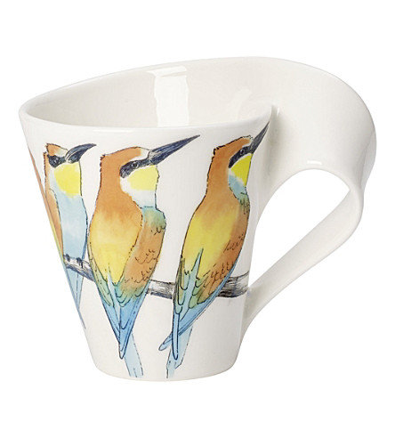VILLEROY & BOCH New Wave Caffe Bee-eater coffee mug 0.35l