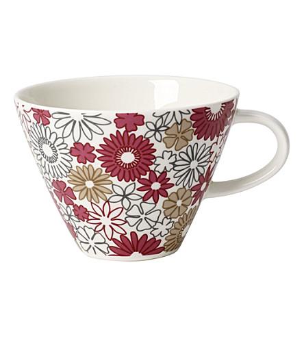 VILLEROY & BOCH Caffe Club Fiori coffee cup 0.39l