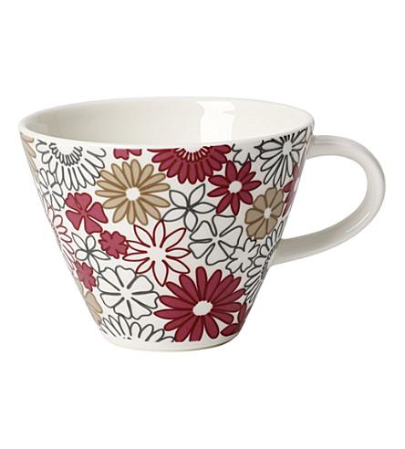 VILLEROY & BOCH Caffe Club Fiori coffee cup 0.22l