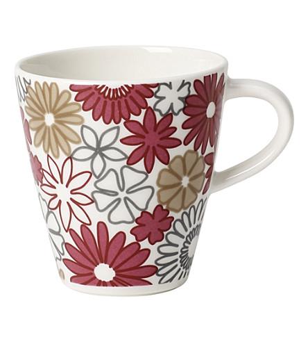 VILLEROY & BOCH Caffe Club Fiori espresso cup 0.10l