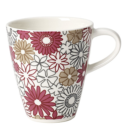 VILLEROY & BOCH Caffe Club Fiori small coffee mug 0.20l