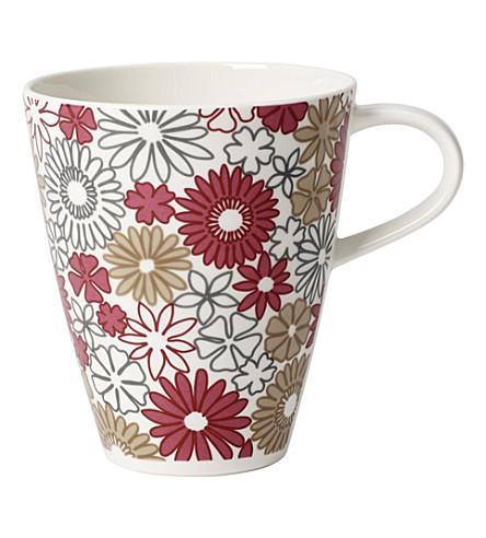 VILLEROY & BOCH Caffe Club Fiori coffee mug 0.35l