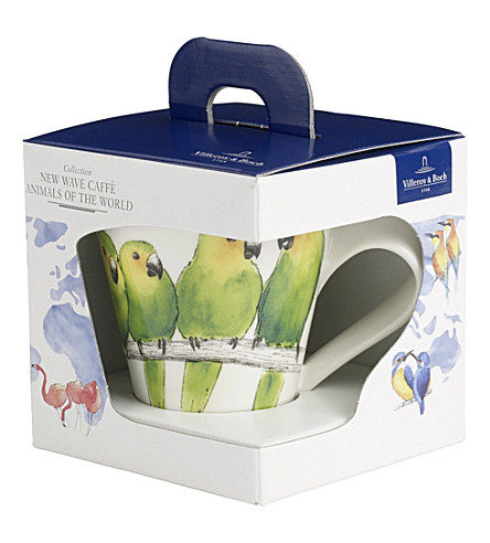 VILLEROY & BOCH New Wave Caffe Conure coffee mug gift set