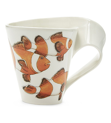 VILLEROY & BOCH Clownfish porcelain mug