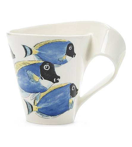 VILLEROY & BOCH Surgeonfish porcelain mug