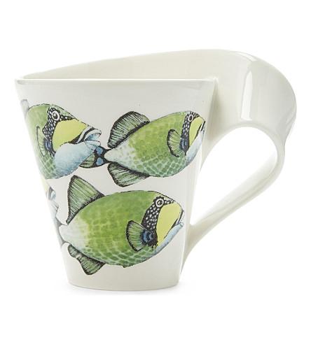 VILLEROY & BOCH Triggerfish porcelain mug