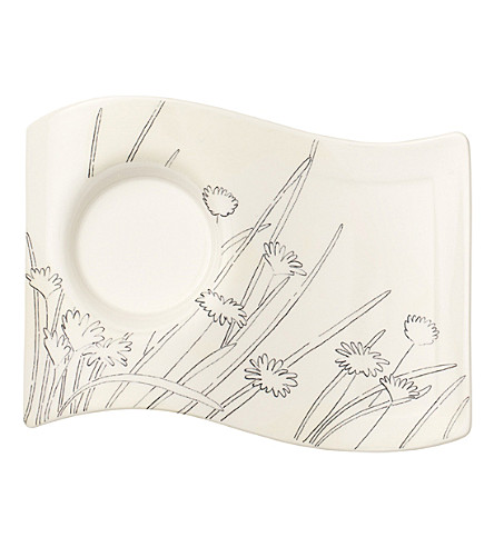 VILLEROY & BOCH NewWave porcelain caffe party plate (Multi+coloured