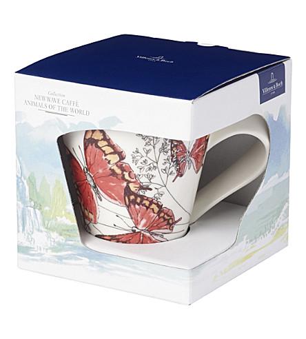 VILLEROY & BOCH NewWave porcelain caffe Mug (Multi+coloured