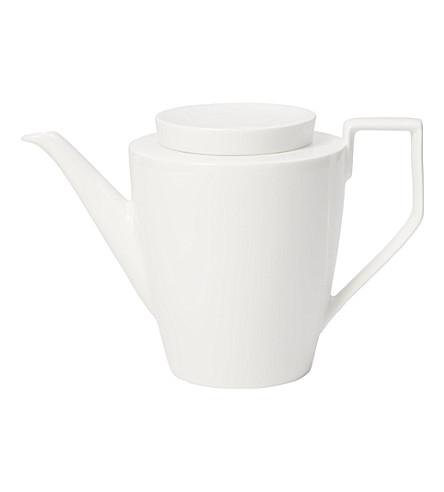 VILLEROY & BOCH La Classica Nuova porcelain coffee pot 1.2L (White