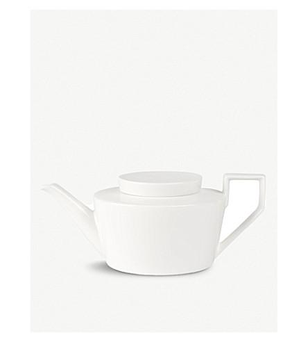 VILLEROY & BOCH La Classica Nuova porcelain teapot 1.1L (White