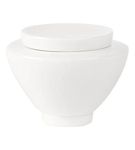 VILLEROY & BOCH La Classica Nuova porcelain sugar pot (White