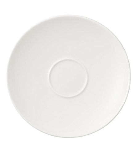 VILLEROY & BOCH La Classica Nuova porcelain coffee saucer (White