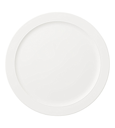 VILLEROY & BOCH La Classica Nuova porcelain cake plate 34cm (White
