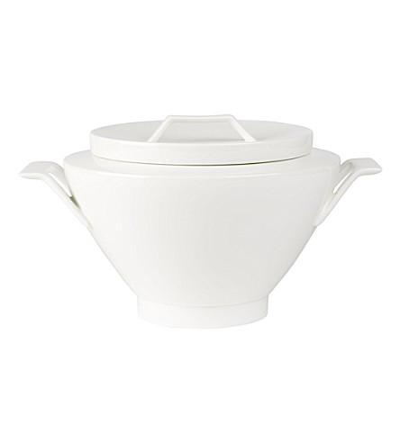 VILLEROY & BOCH La Classica Nuova porcelain soup tureen 3L (White