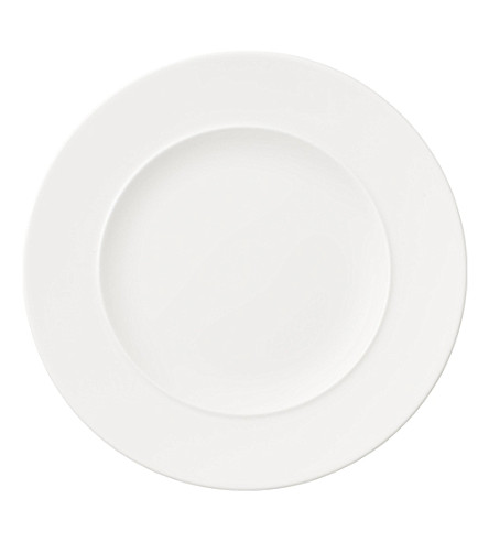 VILLEROY & BOCH La Classica Nuova 瓷面包和黄油板 17cm (白色