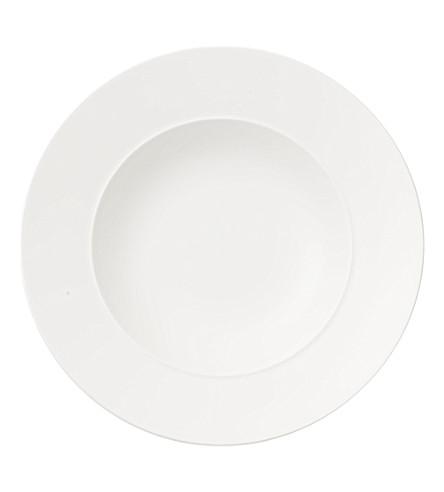 VILLEROY & BOCH La Classica Nuova porcelain deep plate 24cm (White