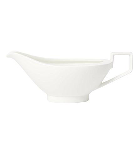 VILLEROY & BOCH La Classica Nuova porcelain sauceboat (White