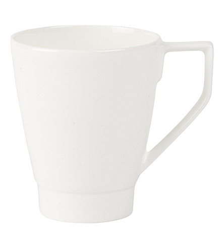 VILLEROY & BOCH La Classica Nuova porcelain mug (White