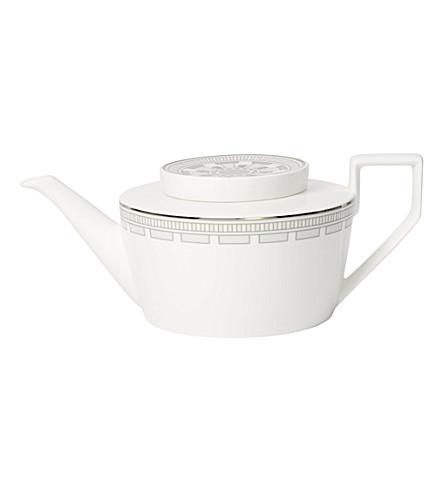 VILLEROY & BOCH La Classica Contura porcelain teapot (White
