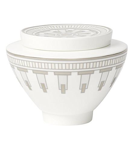 VILLEROY & BOCH La Classica Contura porcelain sugar pot (White
