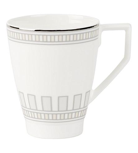VILLEROY & BOCH La Classica Contura porcelain coffee cup (White