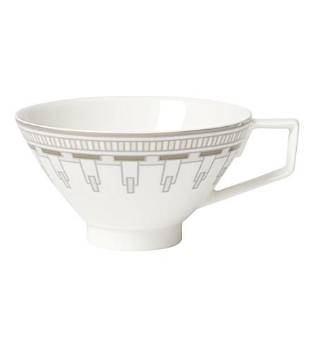 VILLEROY & BOCH La Classica Contura porcelain tea cup (White