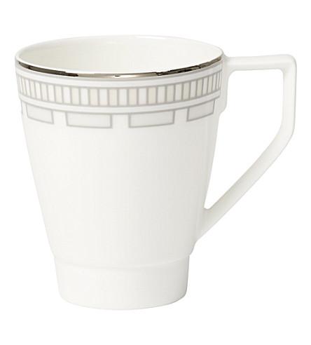 VILLEROY & BOCH La Classica Contura porcelain espresso cup (White