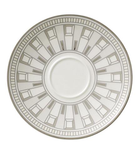 VILLEROY & BOCH La Classica Contura porcelain espresso saucer (White