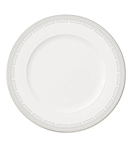 VILLEROY & BOCH La Classica Contura porcelain dinner plate 27.5cm (White