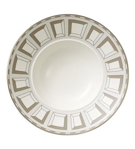 VILLEROY & BOCH La Classica Contura porcelain dessert bowl 20cm (White