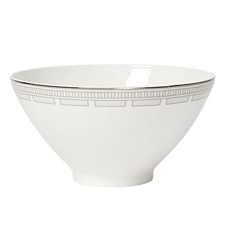 VILLEROY & BOCH La Classica Contura porcelain salad bowl 19cm (White