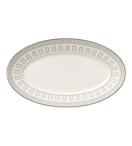VILLEROY & BOCH La Classica Contura porcelain pickle dish 25cm (White