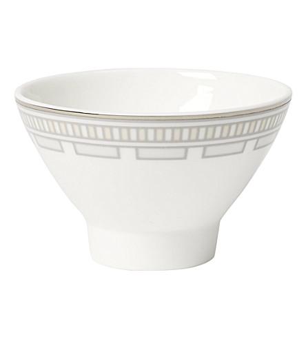 VILLEROY & BOCH La Classica Contura porcelain dip bowl 8cm (White