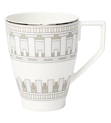 VILLEROY & BOCH La Classica Contura porcelain mug (White