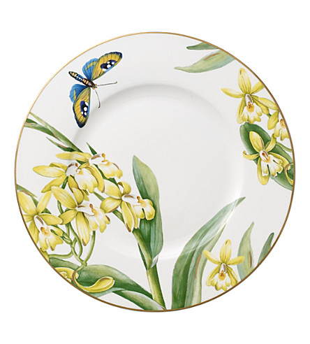 villeroy boch amazonia amnut porcelain salad plate. Black Bedroom Furniture Sets. Home Design Ideas