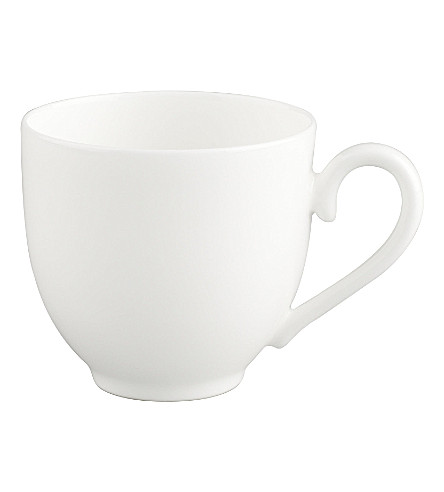 VILLEROY & BOCH White Pearl espresso cup