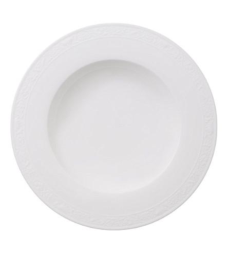 VILLEROY & BOCH Pearl deep plate 24cm