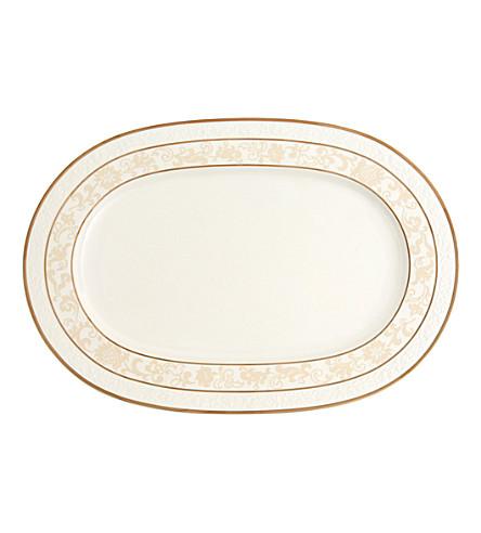 VILLEROY & BOCH Ivoire oval porcelain platter 41cm