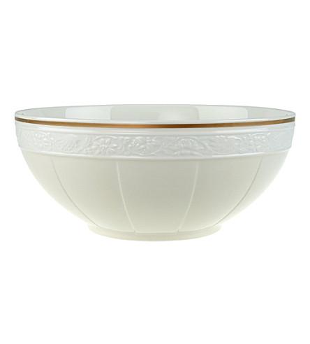 VILLEROY & BOCH Ivoire porcelain salad bowl 24cm