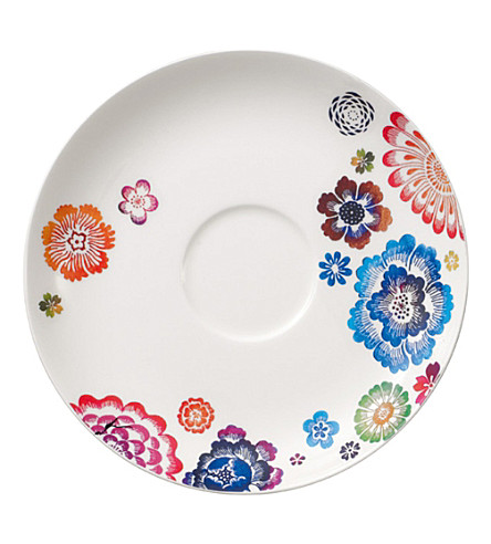 VILLEROY & BOCH Anmut Bloom breakfast saucer