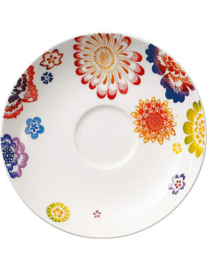 VILLEROY & BOCH Anmut Bloom coffee saucer