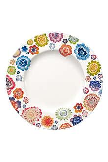 VILLEROY & BOCH Anmut Bloom flat plate 27cm